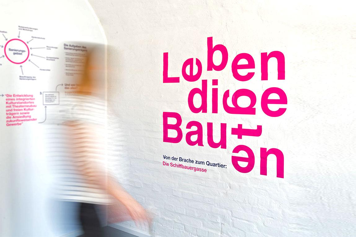 Ausstellung Lebendige Bauten Potsdam 2018